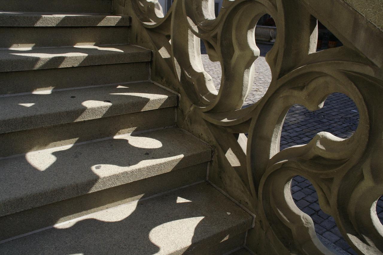 Erfolgsmaß der Steintreppe bzw. Betontreppe
