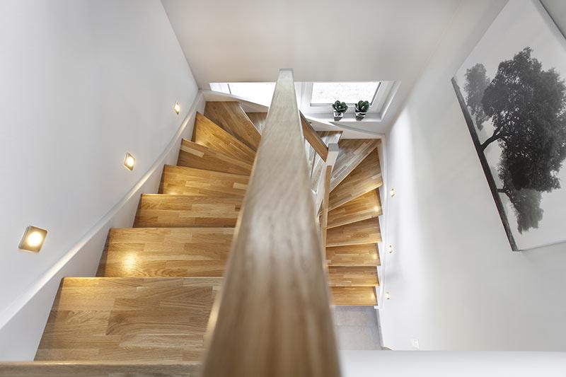 Grundbauarten von Treppen