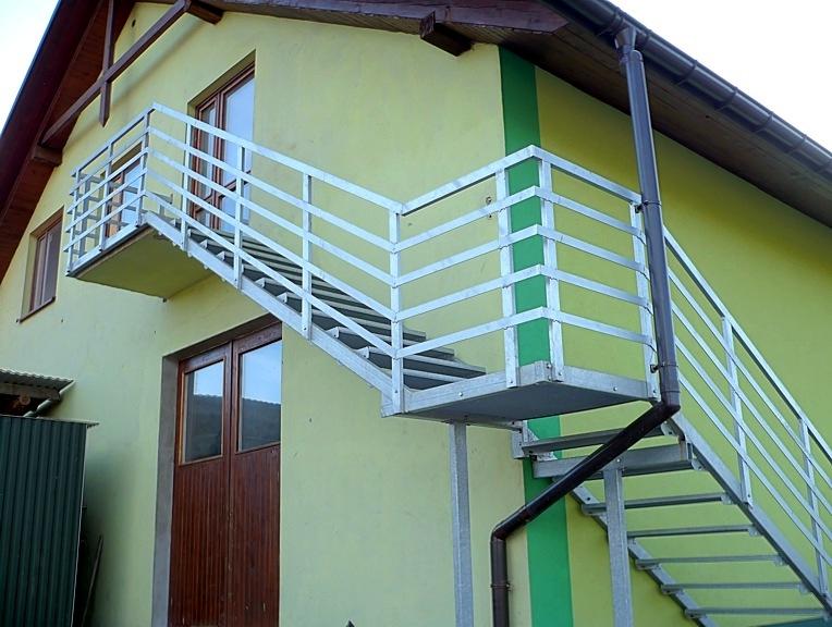 Treppenarten: Außentreppen