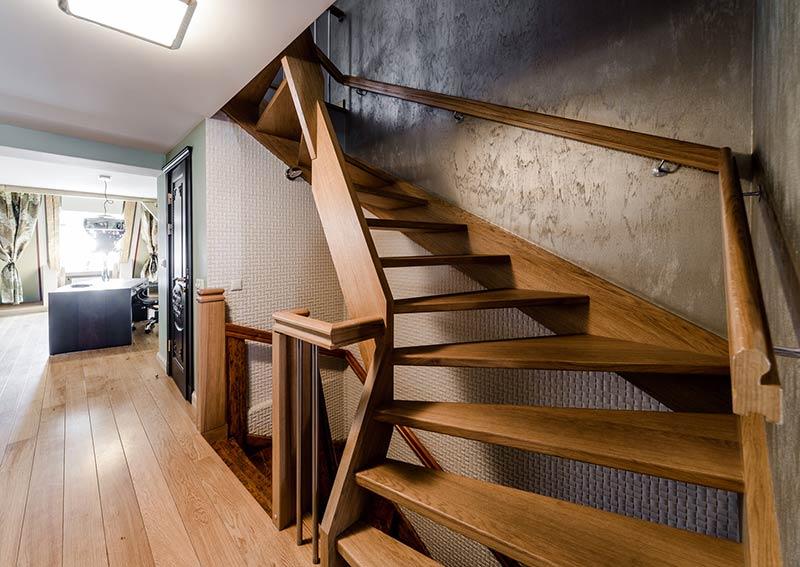 Treppenarten: Holztreppen