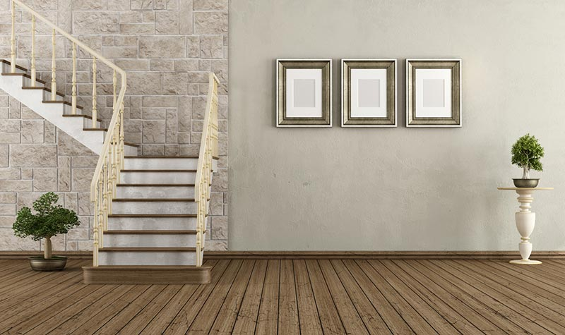 Treppenarten: Gewendelte Treppen