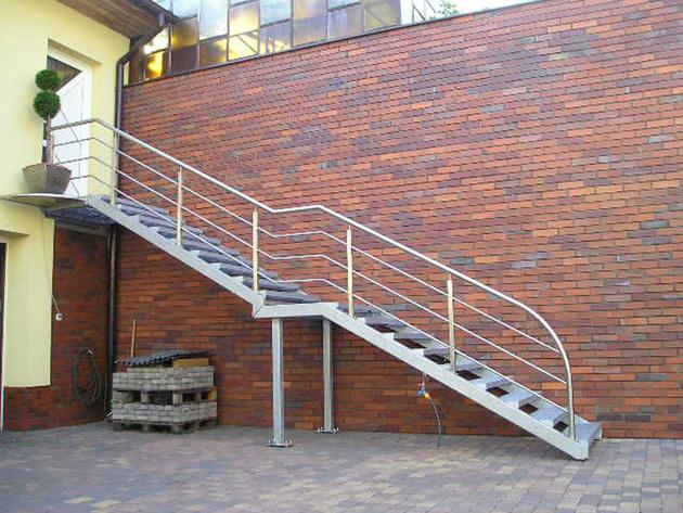 Treppenarten: Metalltreppen
