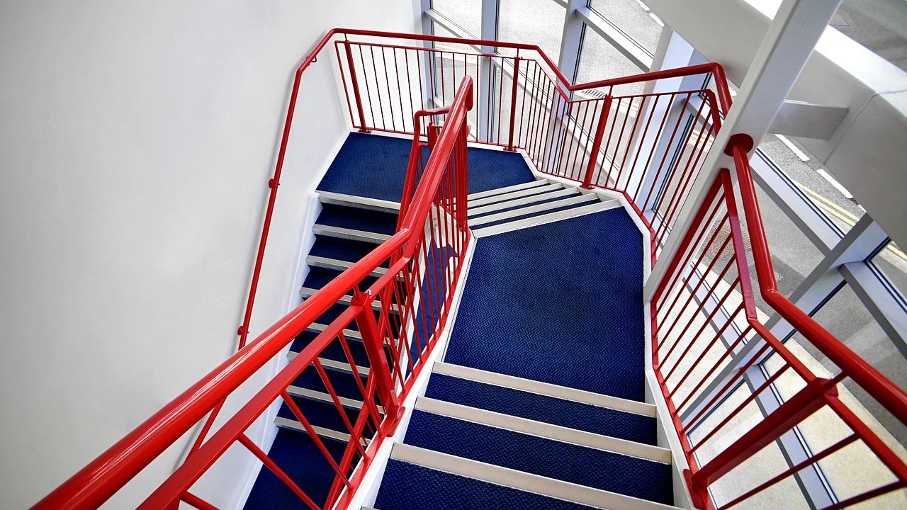 Viertelgewendelte Treppen